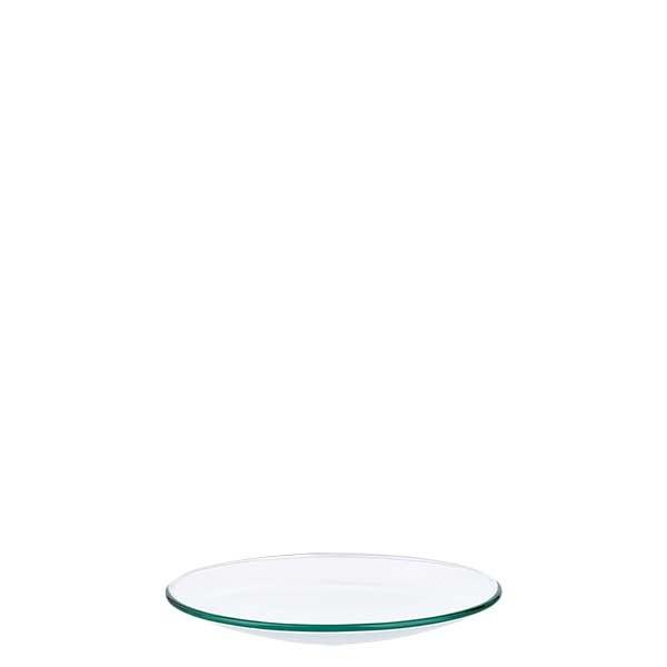 Verre de montre 70 mm - verre borosilicate 3.3 - bord fondu