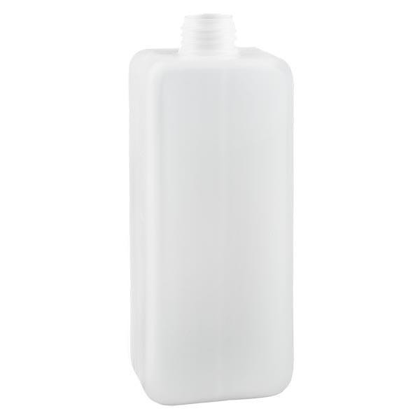 Flacon à produits chimiques 1000 ml à col étroit, PEHD couleur naturelle, GL 32