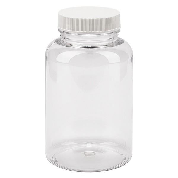 Pot Petpacker clair 250 ml, goulot 45 mm avec couvercle étanche SFYP
