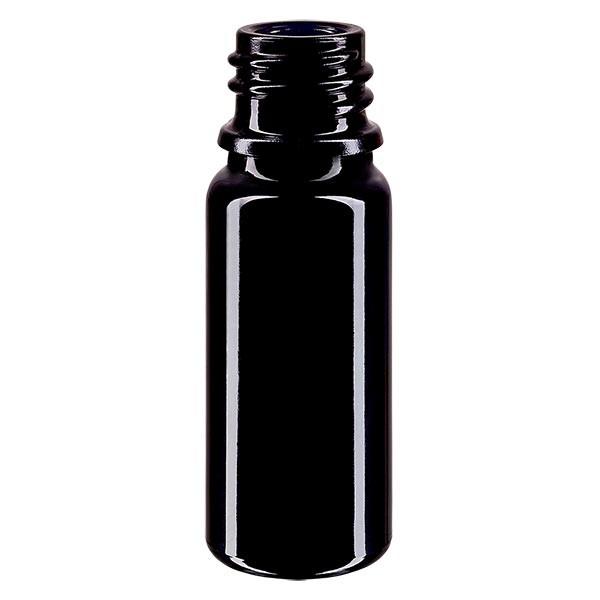 Flacon en verre violet 10 ml DIN18 (verre Miron)