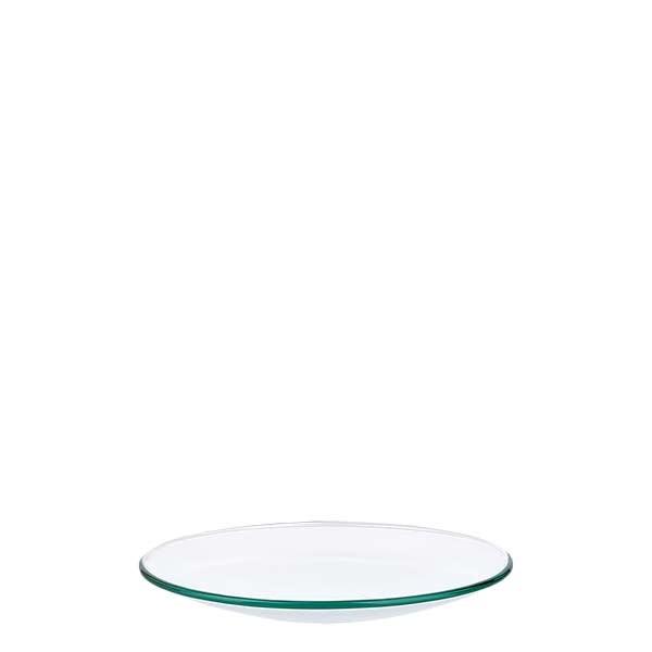 Verre de montre 80 mm - verre borosilicate 3.3 - bord fondu