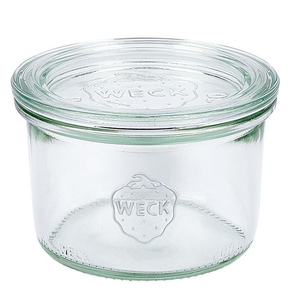 Bocal conique WECK 200 ml avec couvercle