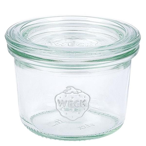 Mini bocal conique WECK 80 ml avec couvercle