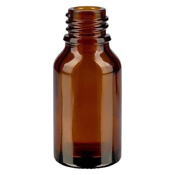 Flacon compte-gouttes pour pharmacie 30 ml DIN18 - verre brun