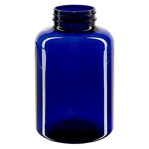 Pot Petpacker bleu cobalt 500 ml, goulot 45 mm sans couvercle