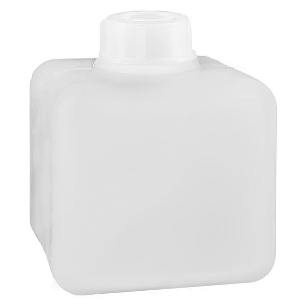 Flacon à produits chimiques 500 ml à col étroit, PEHD couleur naturelle, avec bouchon GL 32
