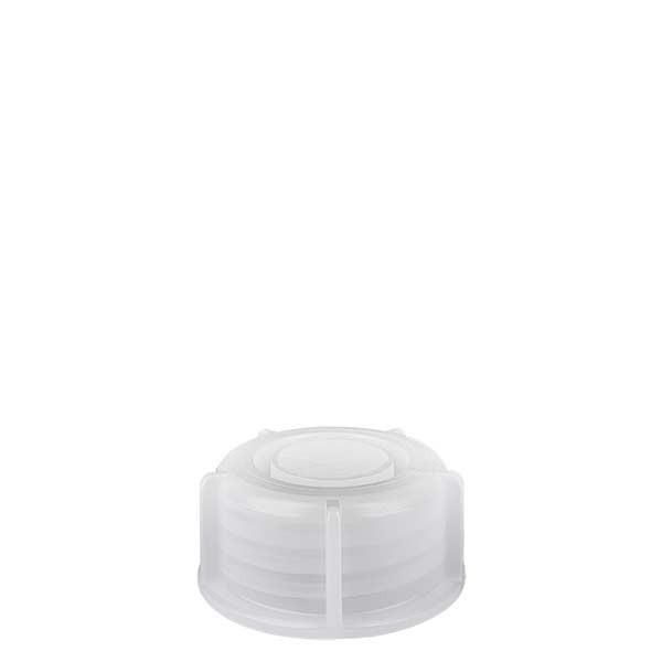 Bouchon à vis pour flacon à col étroit 100 ml