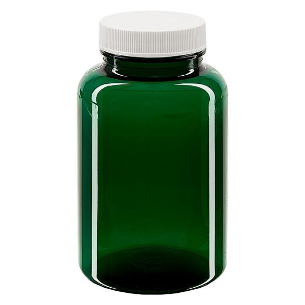 Pot Petpacker vert 250 ml, goulot 45 mm avec couvercle étanche SFYP