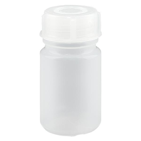Flacon à col large 50 ml avec bouchon