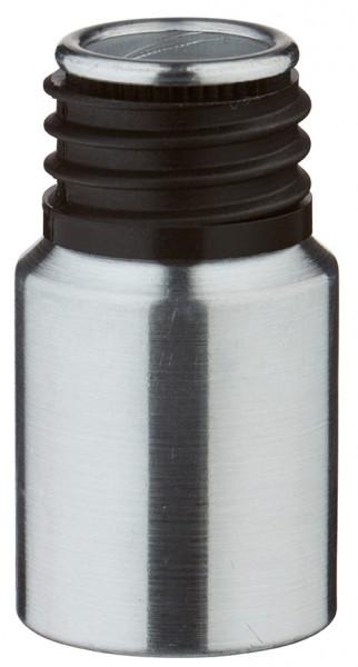 10ml Aluminium-Flasche geschliffen ohne Verschluss