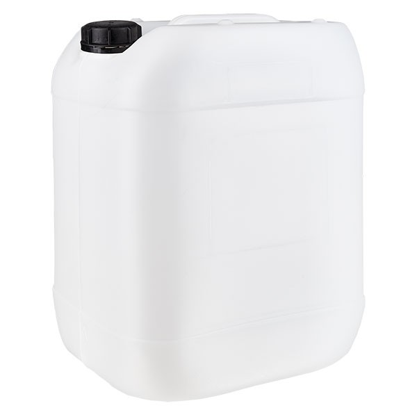 Jerrican de 20 litres avec bouchon à vis