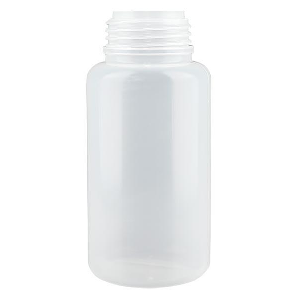 Flacon à col large 1000 ml sans bouchon