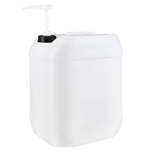 Jerrican de 20 litres avec pompe doseuse