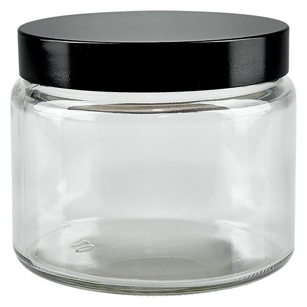 Pot en VERRE CLAIR 250 ml