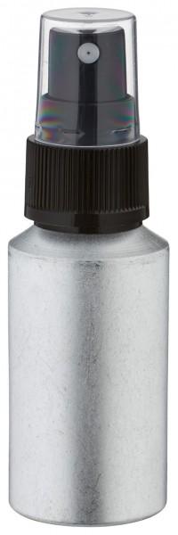 30ml Aluminium-Flasche gebeizt inkl. Pumpzerstäuber schwarz