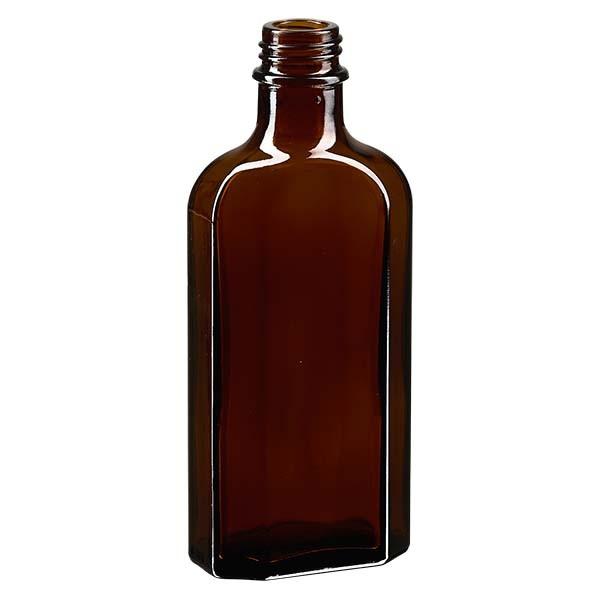 Flasque brune de 125 ml au goulot DIN 22