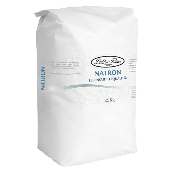 Bicarbonate de soude Doktor Klaus, sac de 25 kg vendu en gros, apte à l'utilisation alimentaire