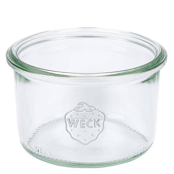 Mini bocal conique WECK 200 ml, taille de couvercle et anneau : RR80