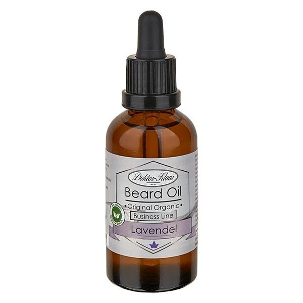Huile à barbe lavande 50 ml, collection Business (Original Organic Beard Oil) de Doktor Klaus