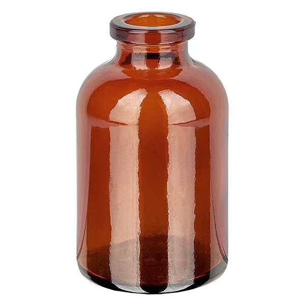 Flacon pour solution injectable, 30 ml en verre ambré