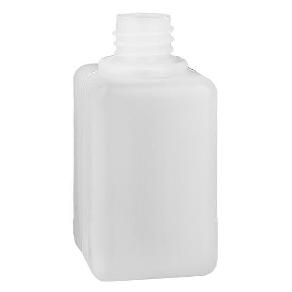 Flacon à produits chimiques 50 ml à col étroit, PEHD couleur naturelle, GL 18