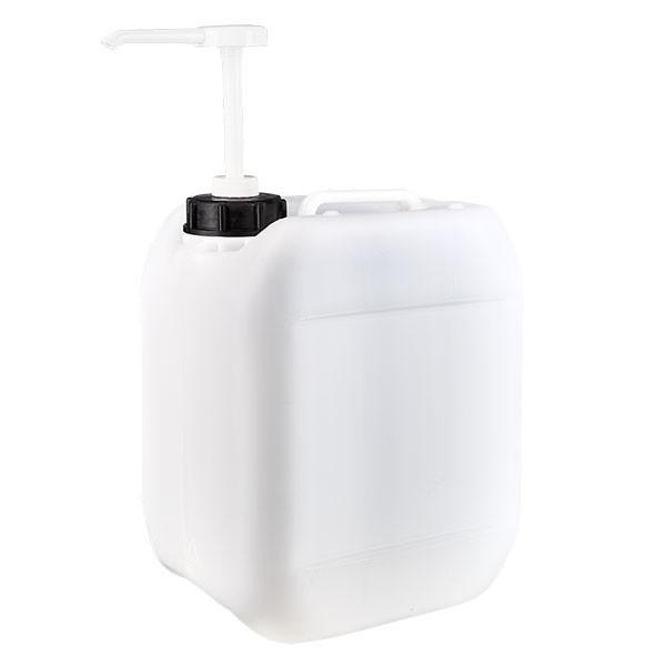 Jerrican de 5 litres avec pompe doseuse