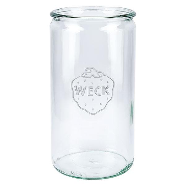 Mini bocal conique WECK 1590 ml, taille de couvercle et anneau : RR100