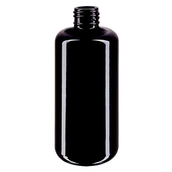 Flacon en verre violet 200 ml GCMI 410/24 (verre Miron)