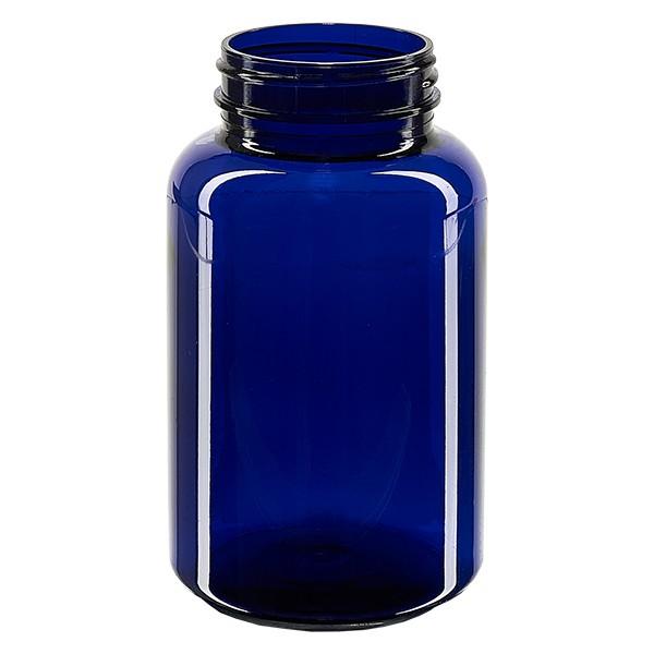 Pot Petpacker bleu cobalt 250 ml, goulot 45 mm sans couvercle