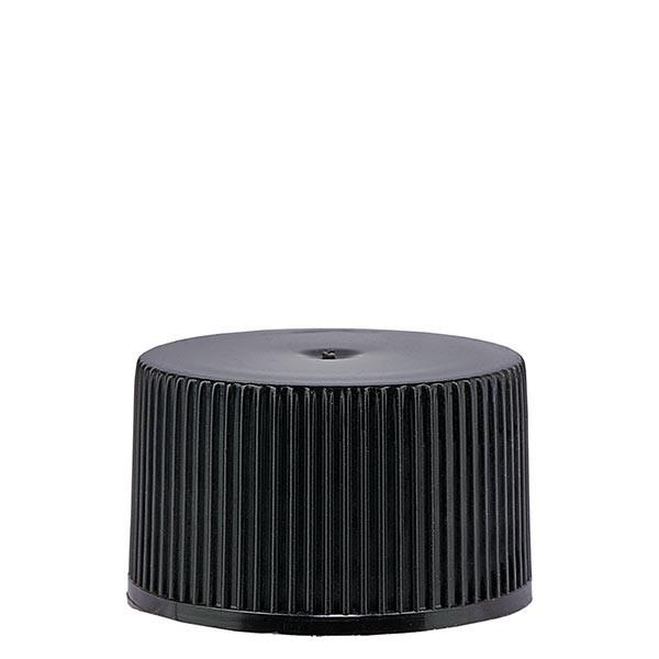 Bouchon à vis en PP noir ND 25 standard