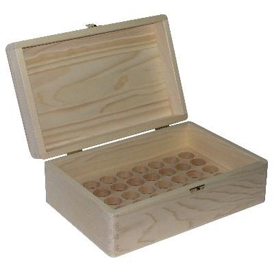 30ml Öko Fichtenholzbox