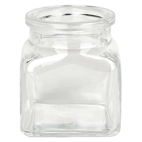 Quadratus clair 120 ml, goulot 39 mm, sans son bouchon 38/42