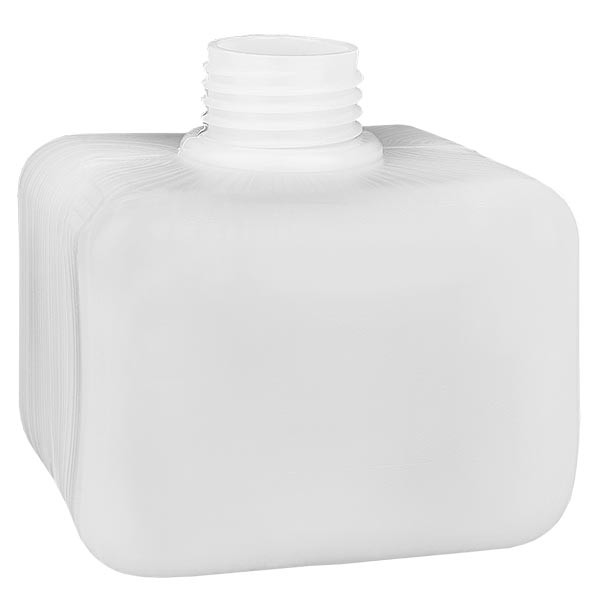 Flacon à produits chimiques 250 ml à col étroit, PEHD couleur naturelle, GL 28