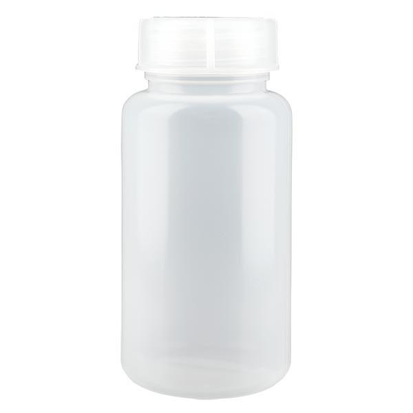 Flacon à col large 1000 ml avec bouchon