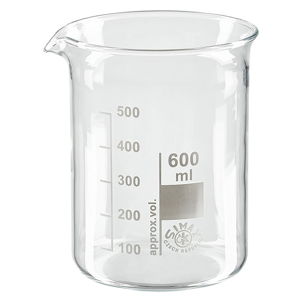 Becherglas 600ml
