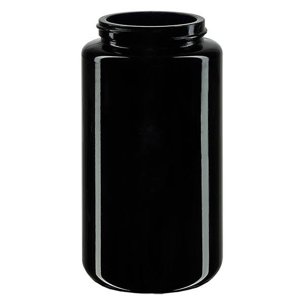 Pot violet 200 ml à large ouverture, filetage GCMI 400/48, sans couvercle
