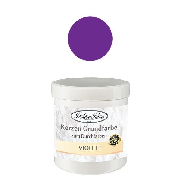 Couleur de base pour bougie violet Doktor-Klaus, 7 g, en pot