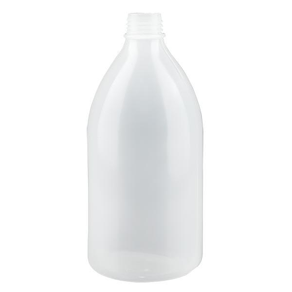 Flacon 500 ml à col étroit, sans bouchon