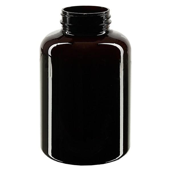 Pot Petpacker ambré 500 ml, goulot 45 mm sans couvercle