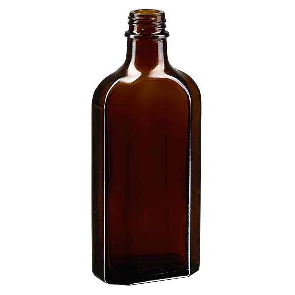 Flasque brune de 150 ml au goulot DIN 22