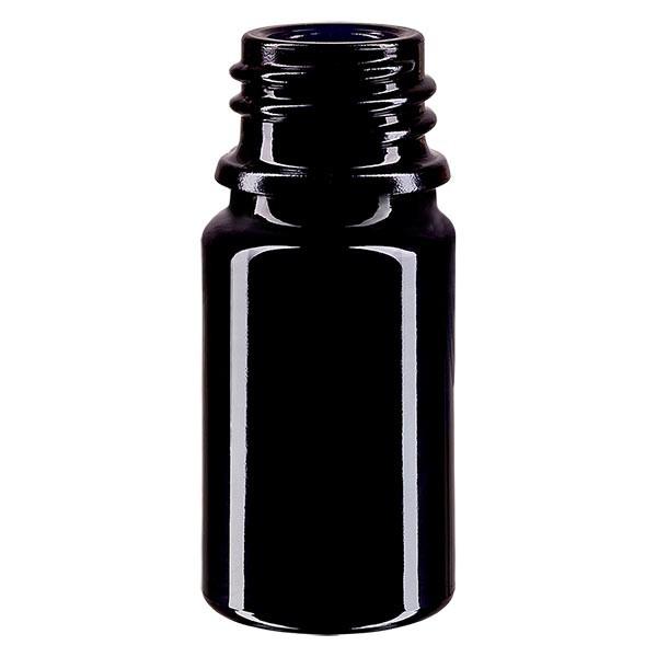 Flacon en verre violet 5 ml DIN18 (verre Miron)