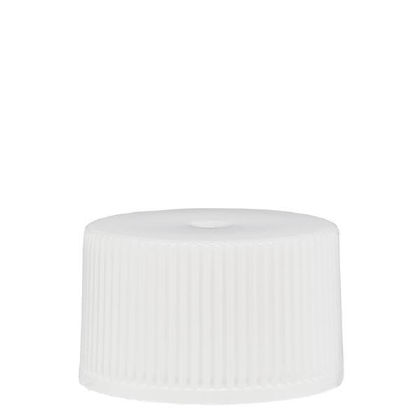 Bouchon à vis en PP blanc ND 25 standard
