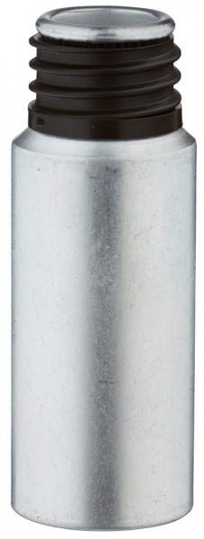 20ml Aluminium-Flasche gebeizt ohne Verschluss