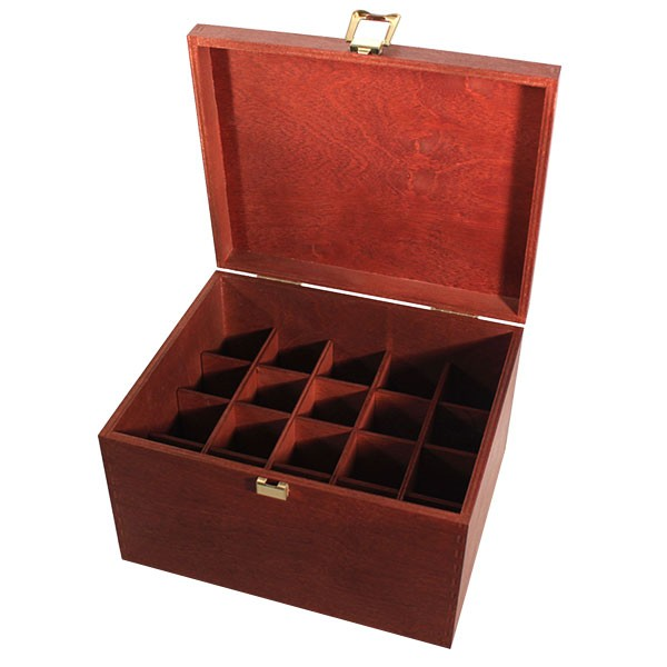 Holzbox Größe 30 Mahagoni