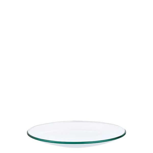 Verre de montre 90 mm - verre borosilicate 3.3 - bord fondu