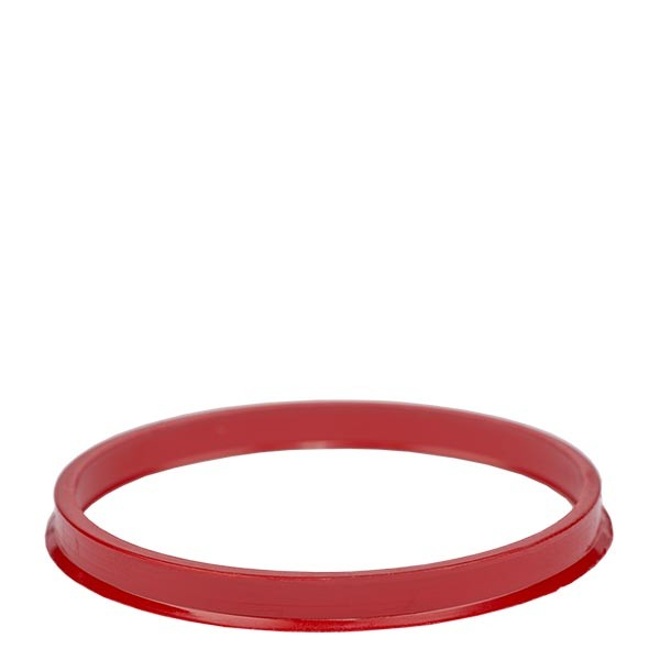 Bague anti-gouttes rouge - filetage GL 45