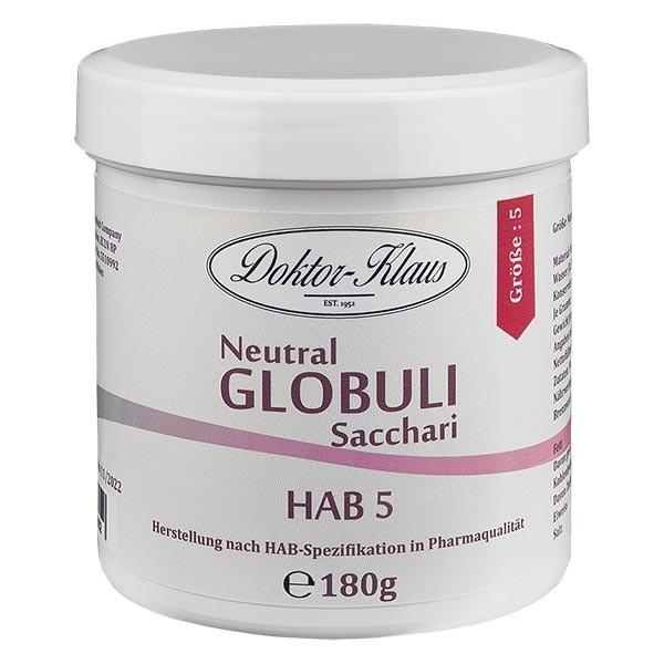 180g globules neutres HAB5, 100 % pure saccharose
