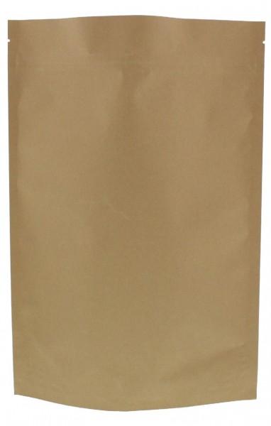 Sachet vertical en papier kraft marron (capacité : environ 1000g / 235x340)