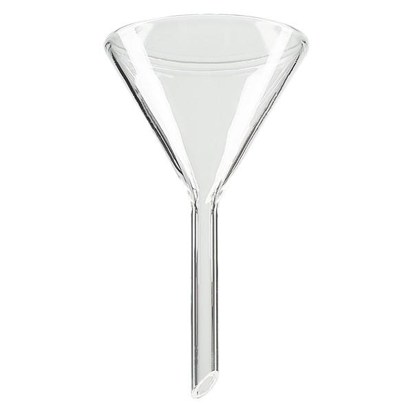 Entonnoir Ø 50mm - verre sodocalcique - angle 60°