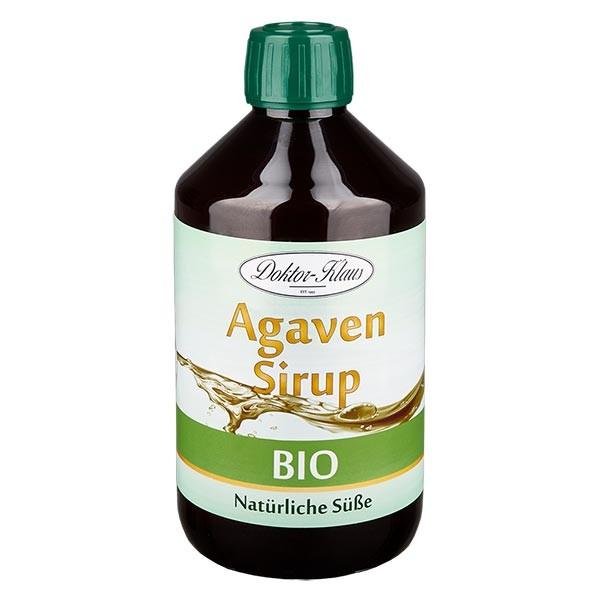 Sirop d'agave bio 500 ml en bouteille PET ambrée